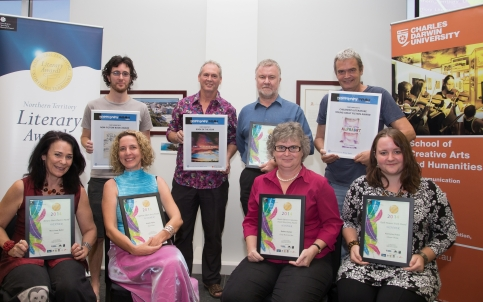 NT Literary Awards 2014. Parliament library Darwin. Photo Shane Eecen Creative Light Studios